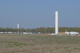 Windpark Beedenbostel wächst in die Höhe