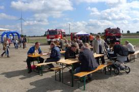 Einweihungsfest im Windpark Beedenbostel